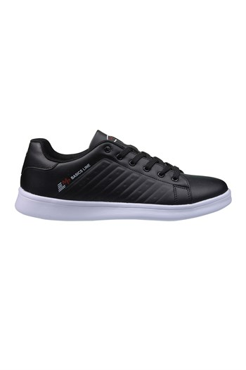 MP Mens Lace Black and White Sneakers 211-7901MR 100