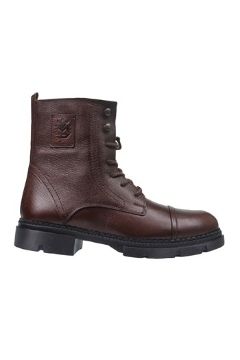 Mp Mens Wrist Size Leather Brown Boots Shoes 202-4047MR 600