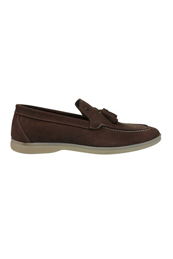 Mp MenS Nubuck Brown Casual Shoes 211-4279MR 600