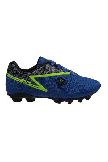 Mp One Kids Lace-Up Blue Football Boots 211-1805FT 250