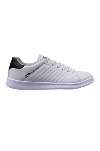Mp Unisex White Black Sneakers 211-7901GR 650