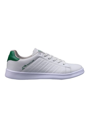 Mp Unisex White-Green Sneakers 211-7901GR 650