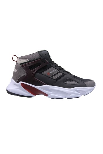 Mp Unisex Wrist Size Black-Burgundy Sneakers 211-1723GR 100